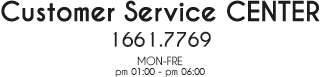 customer sevice center 1661.7769 mon-fre pm01:00~pm06:00